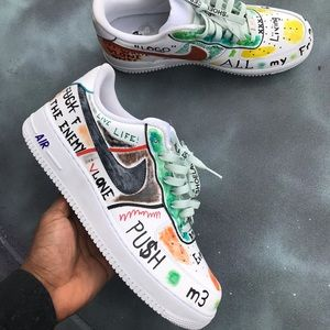Nike Shoes | Custom Air Force One Low